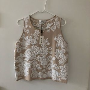 Cream MILLY Top